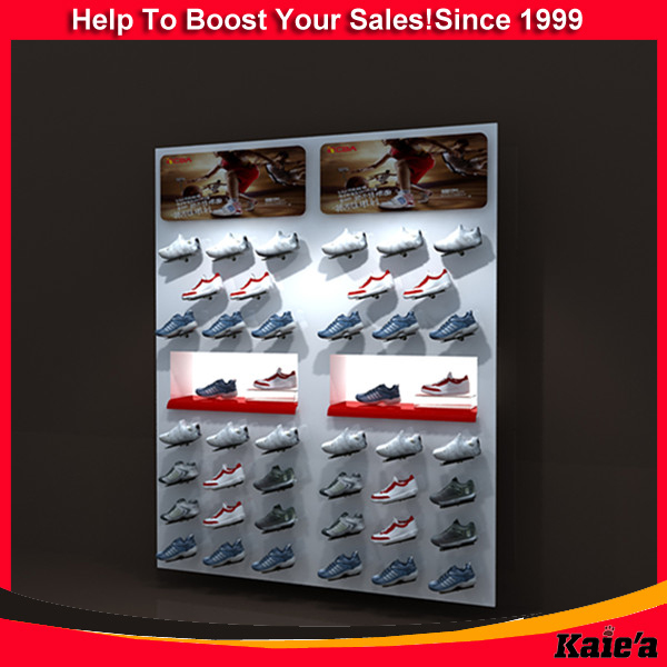 Magnetic levitating display stand of shoes display rack