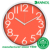Made in china wall decoration 12inch plastic round wall clock home decor wholesale
