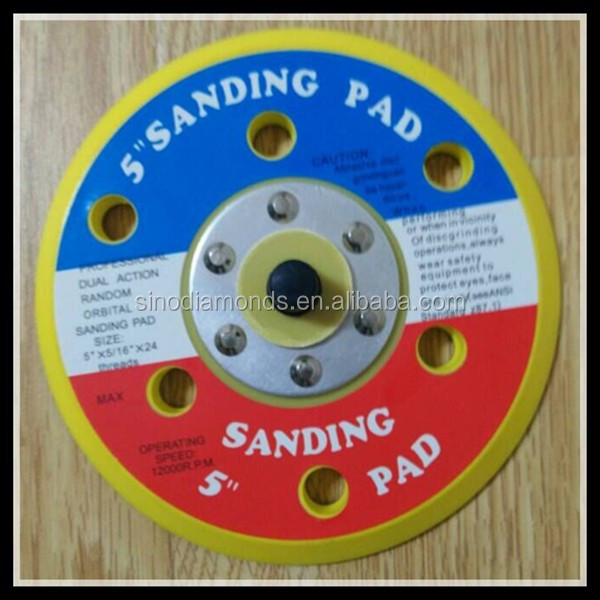 "5"" backing pads of Sanding pads"