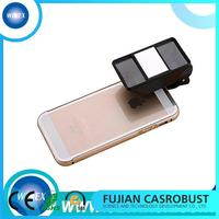 Plastic camera phone lens with high quality