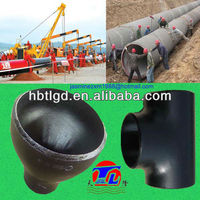 90 deg elbow a234 seamless pipe fittings black painting