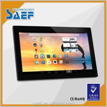 18.5'' tablet monitor for 1366*768 resolution android advertising Machine with/without touch panel