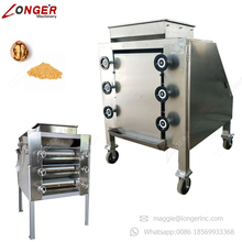 Roasted Cashew Powder Making Almond Crusher Peanut Milling Sesame Soybean Grinding Cocoa Bean Grinder Nut Crushing Machine