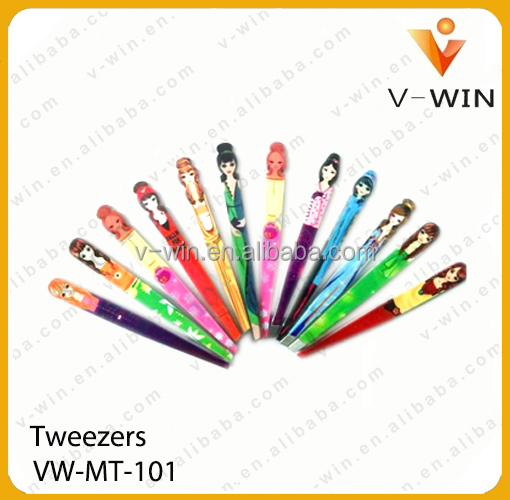 Quality Inox Extra Fine Pointed Eyelash Extension Tweezers/ Lady Tweezers under your own Customized Brand Logo