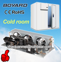 commercial food fresh cold storage refrigerating r404a air cooled condensing unit for cold room storage