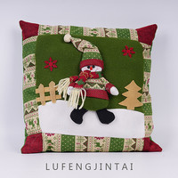 Standard size cushion cover decorative sofa christmas theme pillow case