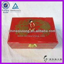 Oriental Wedding Decoration Lacquer Storage Box