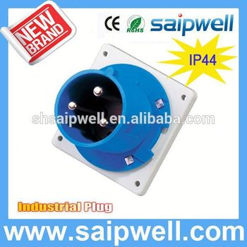 Hot sales Saip IP44 industrial plug switch socket outdoor waterproof 3P SP1981