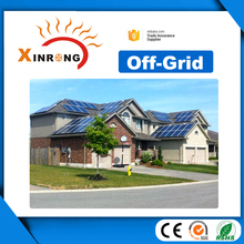with AC 220v 15kw Off Grid Home Solar Power Residential