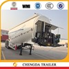 Annual promotion Chinese 55CBM bulk cement powder trailer sale in Africa