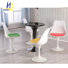 Hot Sale White Rotated Cafe Chairs Abs Dining Room Chairs