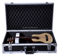 guitar flight case with road aluminum tool case made in China