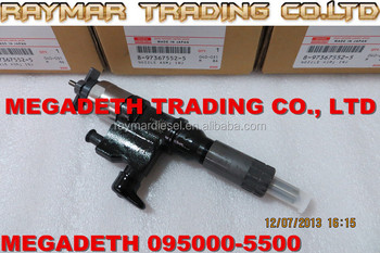 DENSO common rail injector 095000-5500,095000-5501 for ISUZU 4HL1, 6HL1 8973675521,8973675522