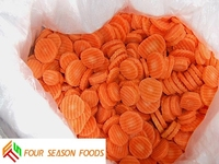 Frozen carrot dice/slices good quality new price four season foods supply