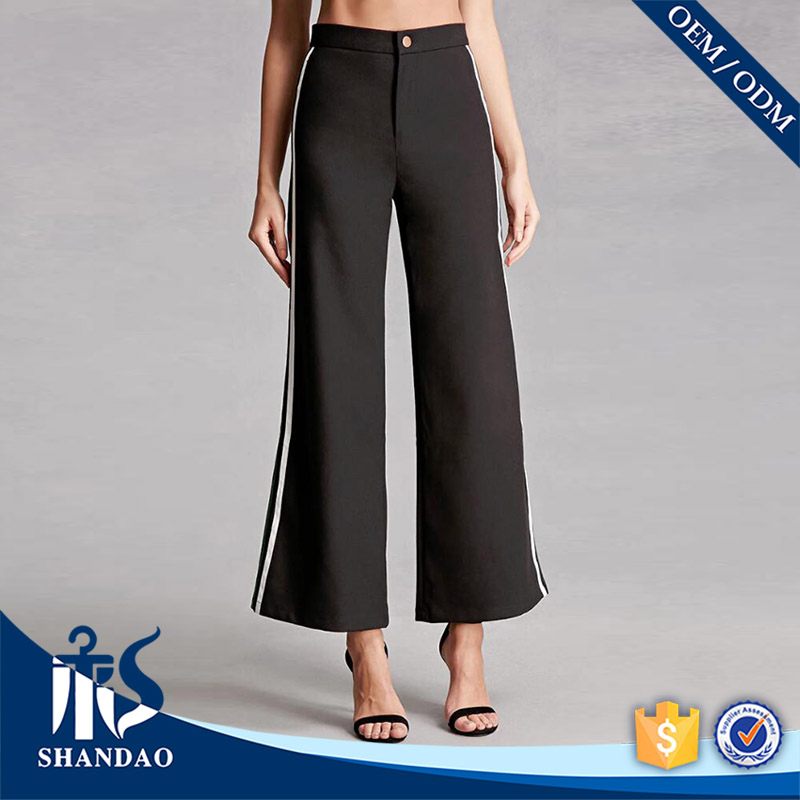Good Sale China Shandao OEM Spring Casual Latest Design Woman Trousers