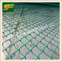Chain Link Fencing/Plastic Chain Link Fence/Heavy Duty Chainlink Fence