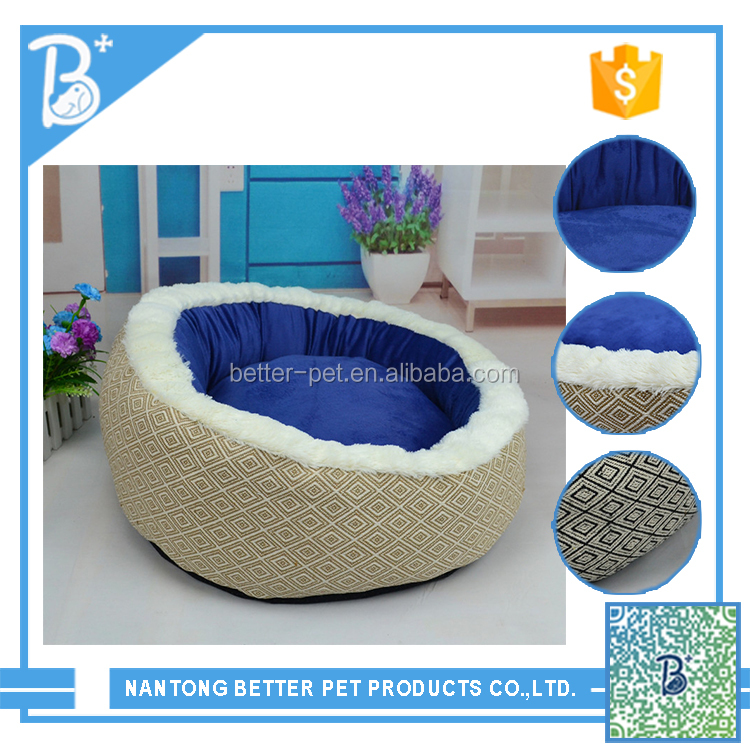 New Design Cute Stylish Waterproof handmade rattan pet dog bed