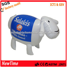 inflatable sheep toys PVC infant's toy
