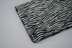 for ipad mini leather case zebra line leather case for ipad 5 smart cover for ipad air