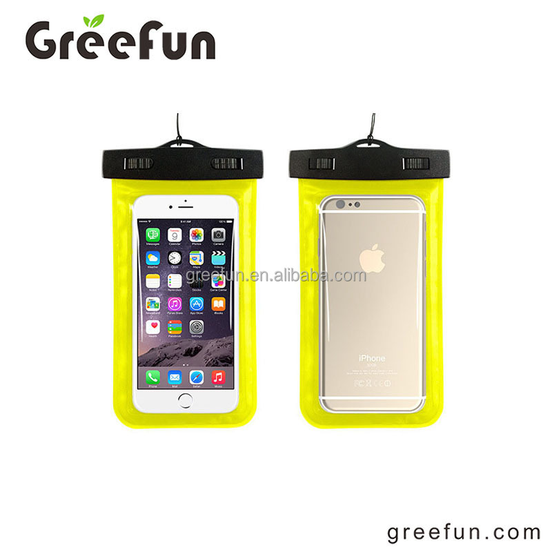 Hot Sale Waterproof Bag, Phone Accessory Wholesale, Cell Phone Accessory Waterproof Case(Yellow)