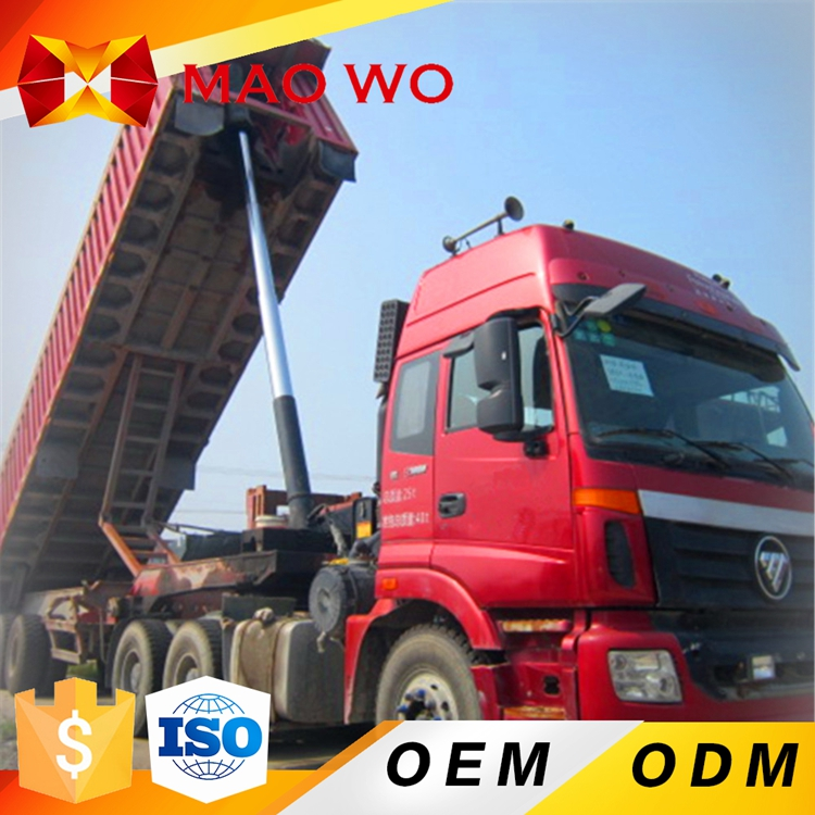 Best selling 16 cubic meter capacity 10 wheel dump truck with oversea service