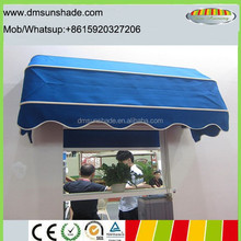 Alumimum Dutch style commercial canopy awnings