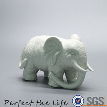 Ceramic porcelain Elephant Figurine for home decor