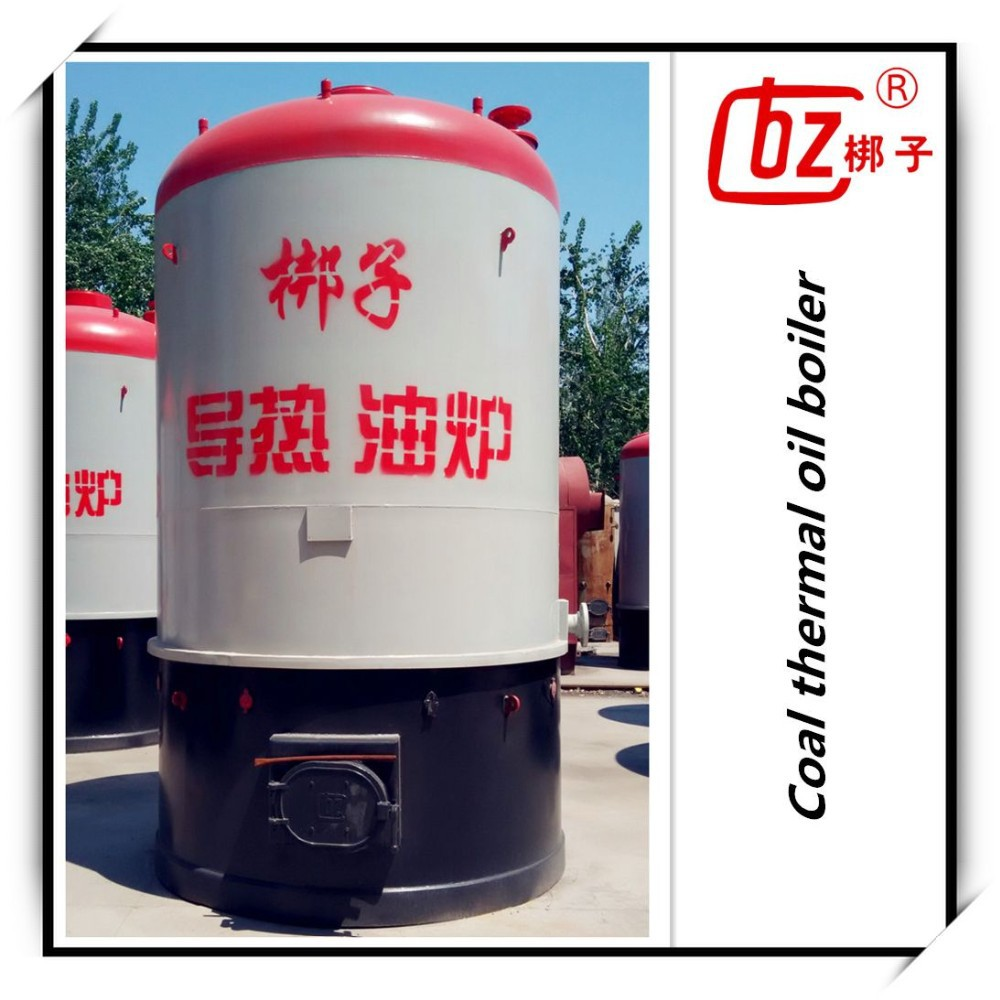 1200000 kcal dual fuel fired manual thermal oil heater