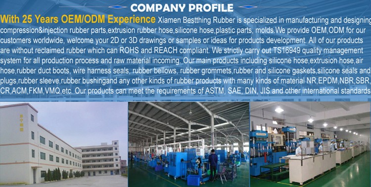 Customized Molded EPDM Rubber Products