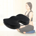 Ergonomic Adult Hip Seat Fashionable Memory Foam Travel Sciatica Wedge Seat Cushion For Car Floor