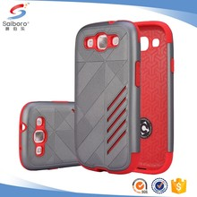 Flexible price TPU+PC for Samsung galaxy s3 case