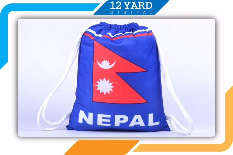 Guangzhou factory wholesale price customized promotional drawstring bag