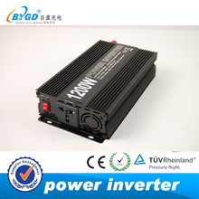 EXW factory price modified sine wave 1200w power inverters and converters