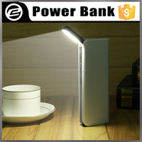 LED small desk lamp power digital display touch power switch output 5v/2a 10000mAh restaurant power bank