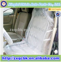 2015 Disposaable product car seat cover/plastic PE car seat cover/seat cover with full set