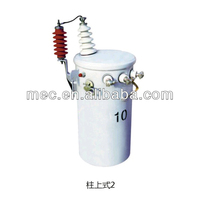 Single phase oil- filed pole-mounted distribution transformers