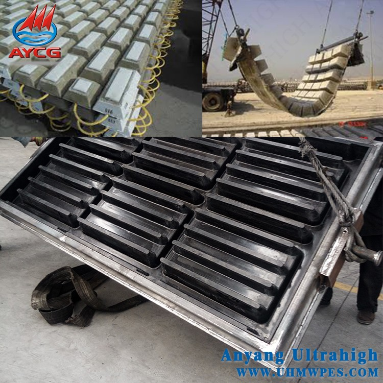 AYCG custom PE plastic precast brick and precast column <strong>molds</strong>