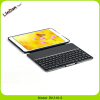 Black/White Wireless Bluetooth Keyboard with Standing Case for iPad