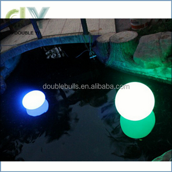 led rechargeable ball light led remote control light led magic ball light outdoor