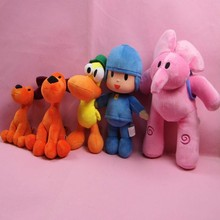 Made in China plush toys Pocoyo plush toys custom carton soft toys hot new products
