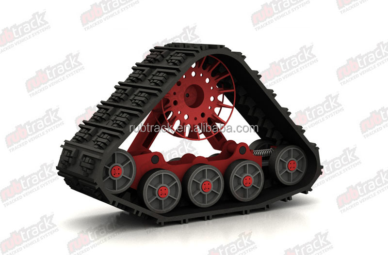 Supply high quality rubber track conversion system kits