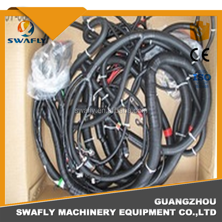 Excavator 6156-81-9320 Wiring Harness Assy for Diesel Engine PC400-7 SAA6D125E-3