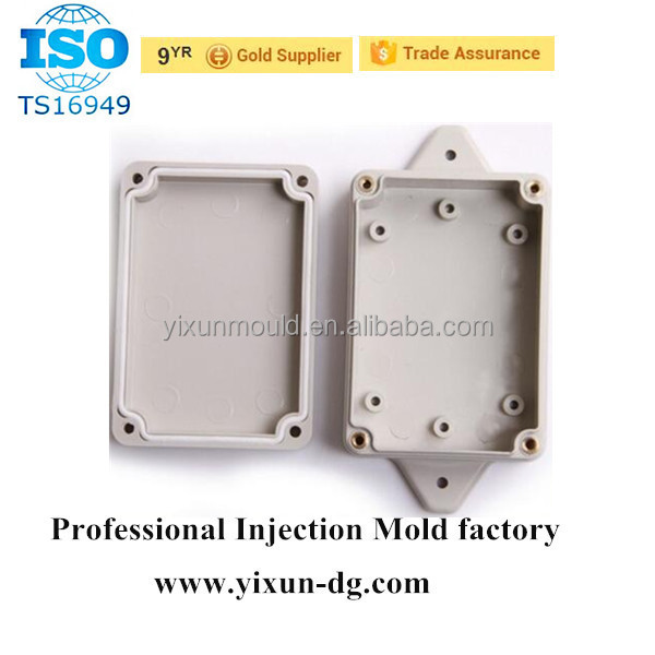 Hinged Wall Mount Ip67 Ip65 Plastic Enclosure