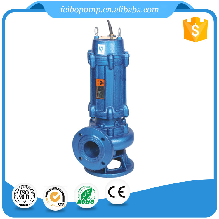 Hot-sale large flow high lift vertical inline non-clog WQ sewage submersible electric water pump