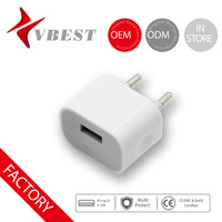 Vbest hot sale low price small quick cell phone travel USB portable battery charger