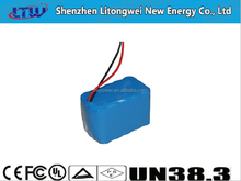 14.4V 14.5ah Lithium Battery Pack 18650 LiNiCoMnO2 Korea Japan Cells