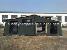 Off road truck hard floor camper trailer tent for camping