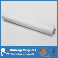 Flexible vinyl rubber magnet sheet for printing fridge magnets