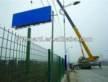 Nice quality low price double side outdoor advertising steel billboard