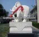 stone carved elephant for business gift
